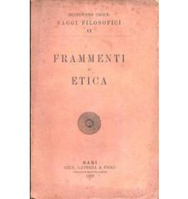 Frammenti di etica