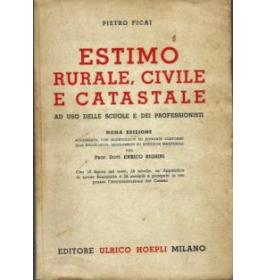 Estimo rurale, civile e catastale