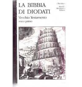 Bibbia di Diodati  Vecchio Testamento  Volume Primo