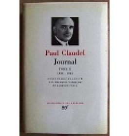 Journal Tomo Secondo  1933  1955