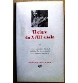 Thatre du XVIII sicle  Volume Secondo