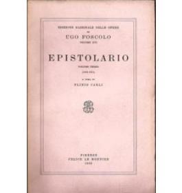Epistolario. Volume III