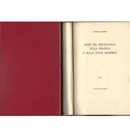 Note sul Machiavelli sulla politica e sullo stato moderno