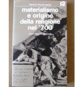 Materialismo e origine della religione nel '700