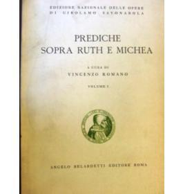 Prediche sopra Ruth e Michea. Volume I