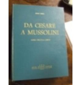 Da Cesare a Mussolini. Storia dell'itala gente