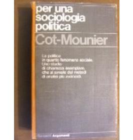 Per una sociologia politica
