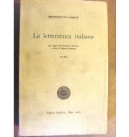 Letteratura italiana (La). Vol. IV