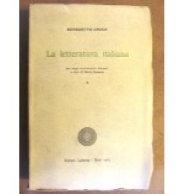 Letteratura italiana (La). Vol. I