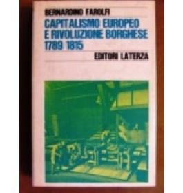 Capitalismo europeo e rivoluzione borghese 1798/1815