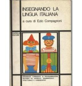 Insegnando la lingua italiana