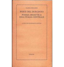 Poesia didattica dell'Italia centrale