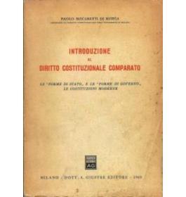 Introduzione al diritto costituzionale comparato
