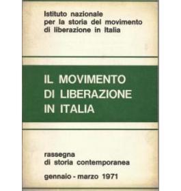 Il movimento di liberazione in Italia Gennaio-Marzo 1971
