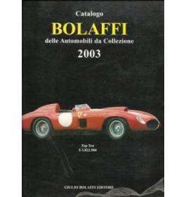 Catalogo Bolaffi delle automobili da collezione 2003