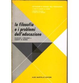 Filosofia e i problemi dell'educazione (I)