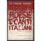 Le cinque guerre: poesie e canti italiani